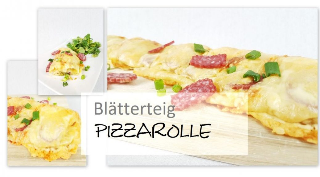 Blätterteig Pizzarolle
