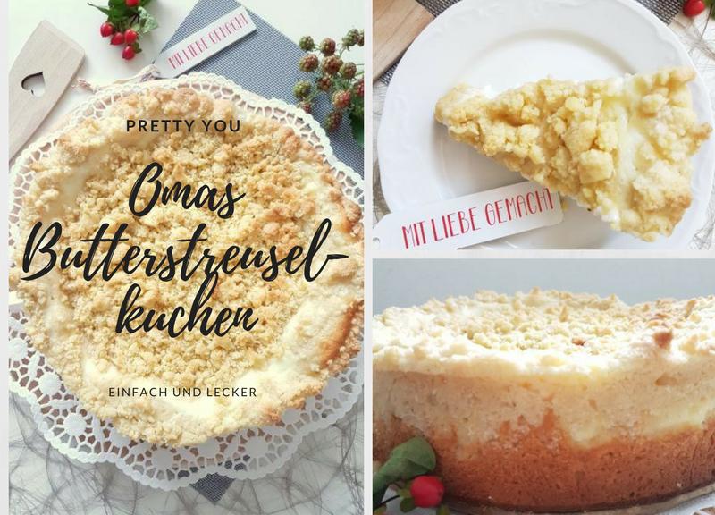Omas Butterstreuselkuchen