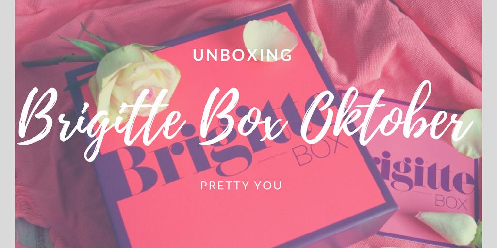 Brigitte Box Oktober 2017