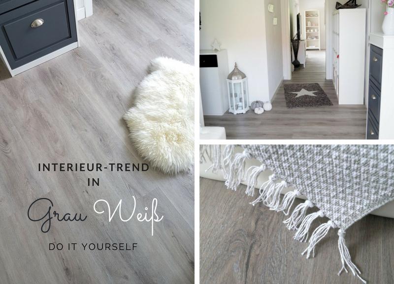 Voll im Trend: Interieur in Grau Weiß - mit wineo - Pretty You