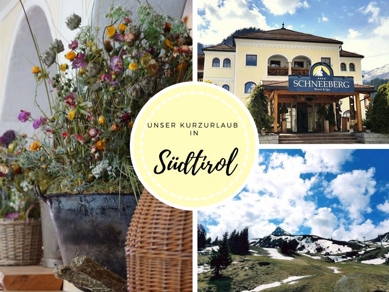 Berge und mehr – Kurzurlaub in Südtirol im Hotel Schneeberg