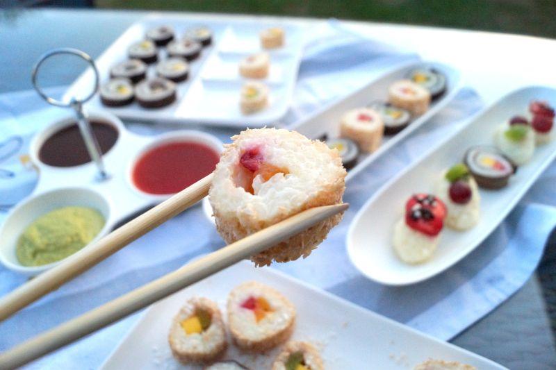 Süßes Sushi Rezept