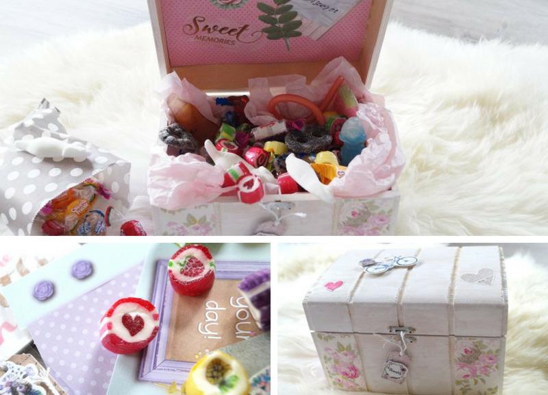World of Sweets Retrobox basteln