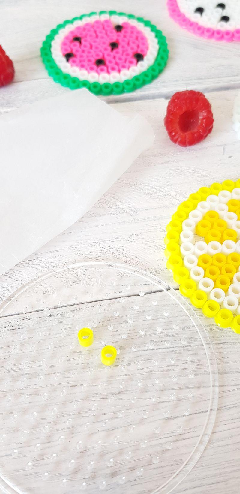 Dekorativen Wespenschutz für Trinkgläser herstellen