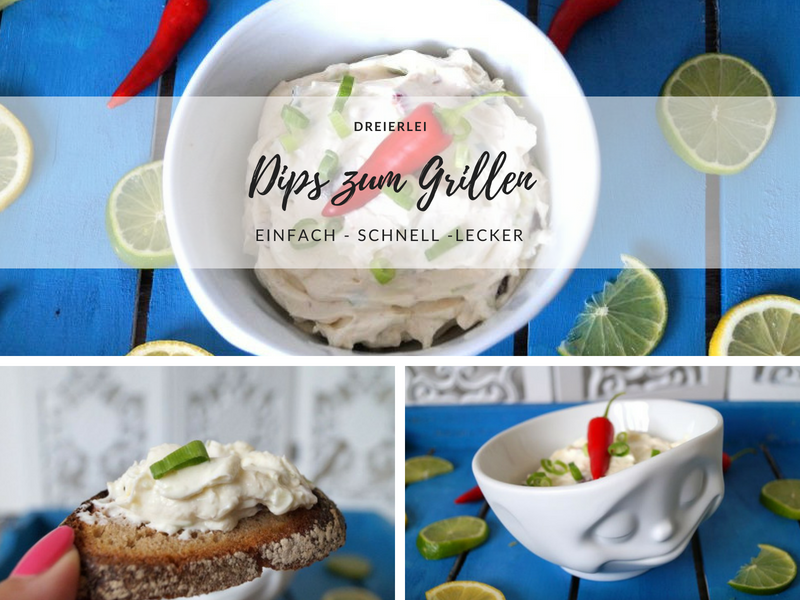 Dreierlei Dips Zum Grillen Verlosung Mit 58products Pretty You
