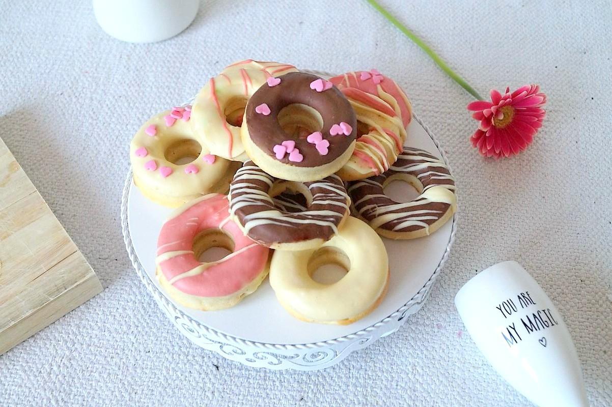 Donuts ohne Hefe backen