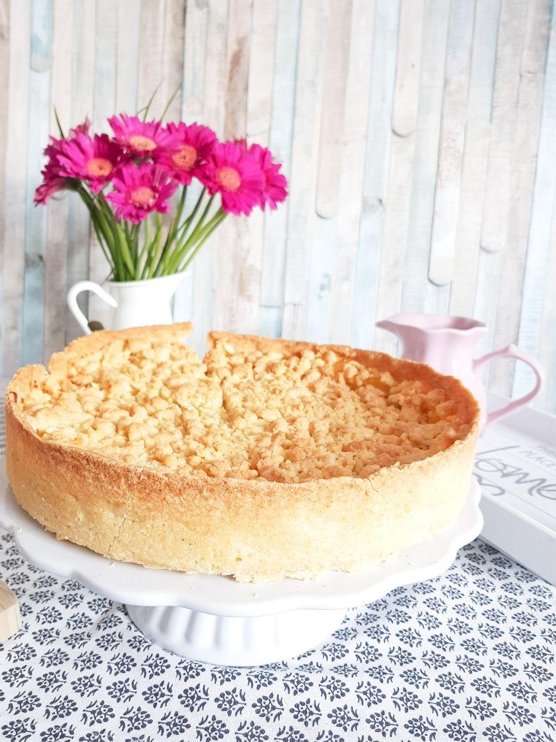 Warmer Apfelkuchen mit Streuseln Apple Crumble