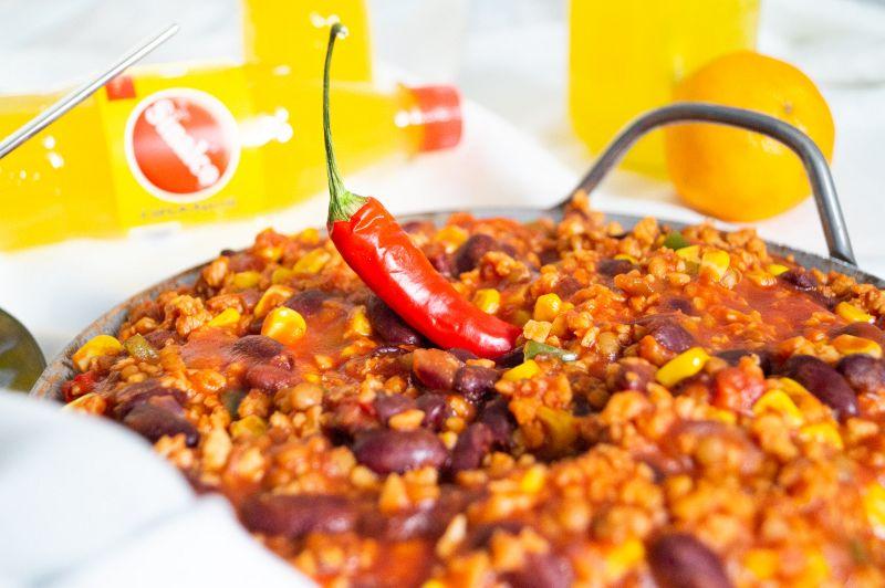 Sinalco Chili sin Carne vegan