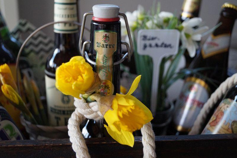 Originelles Geschenk für Männer: Wir gehen in den Biergarten - mit BierSelect - Pretty You