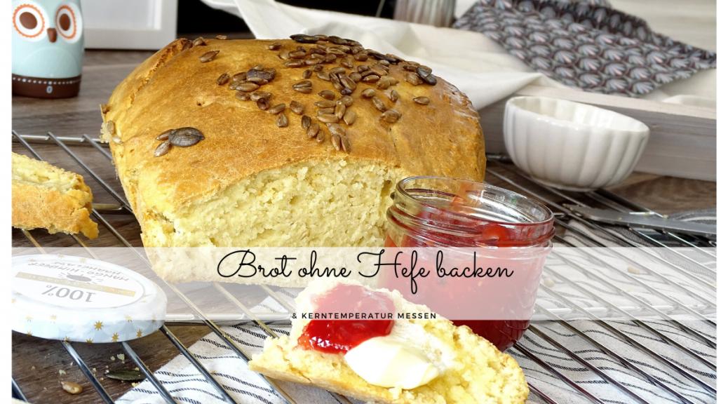 Brot ohne Hefe backen