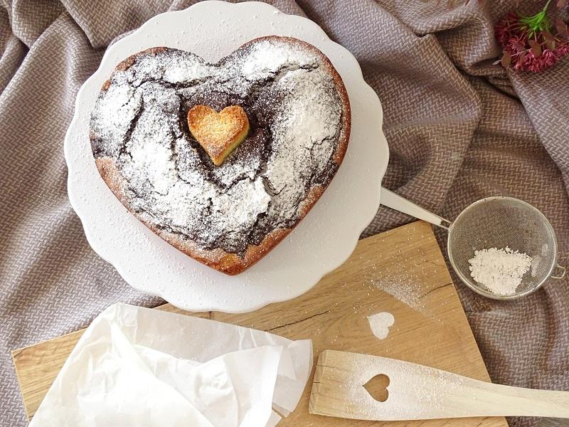 Saftigen Marmorkuchen in Herzform backen zum Muttertag - Pretty You
